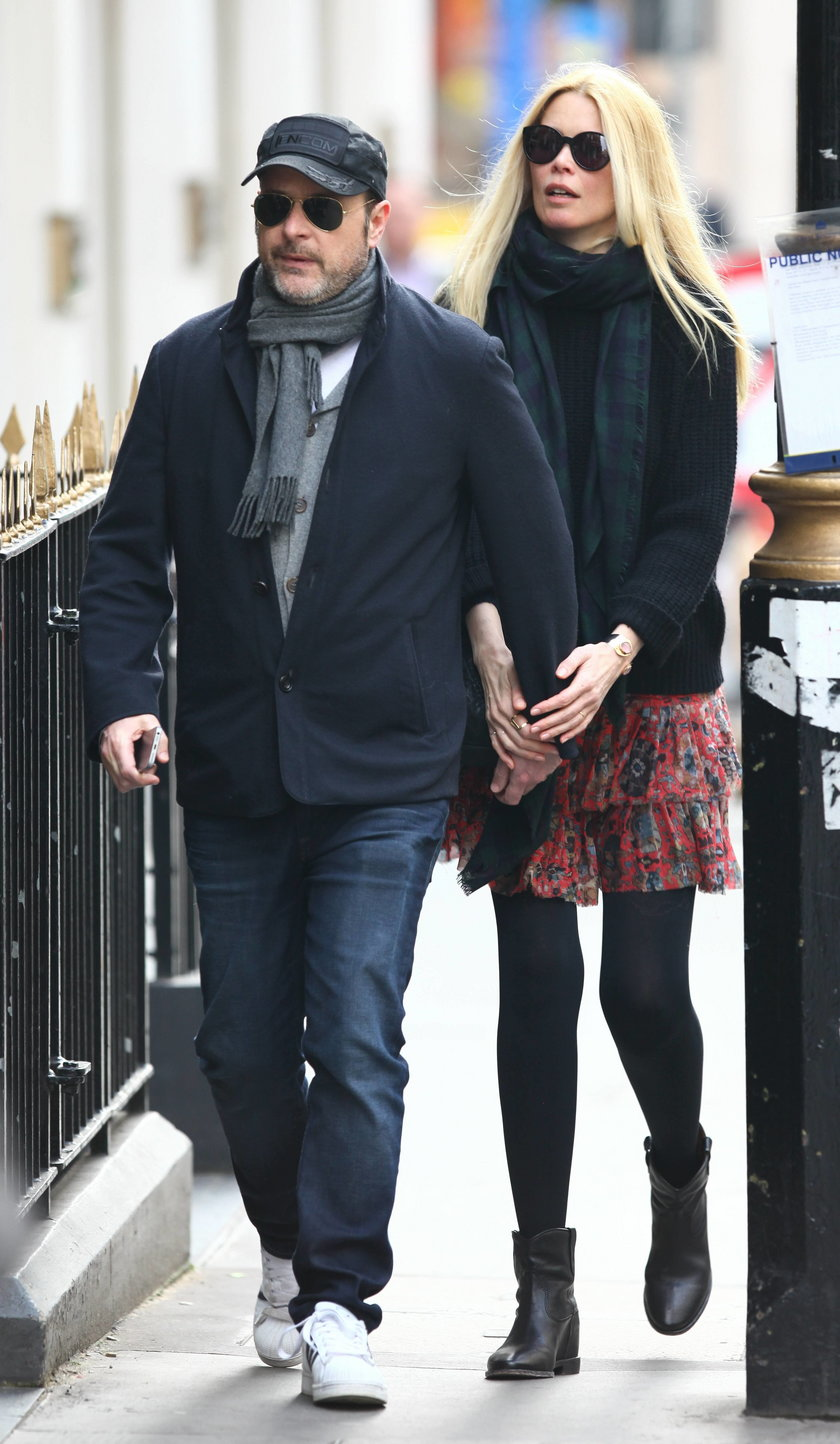Claudia Schiffer i Matthew Vaughn