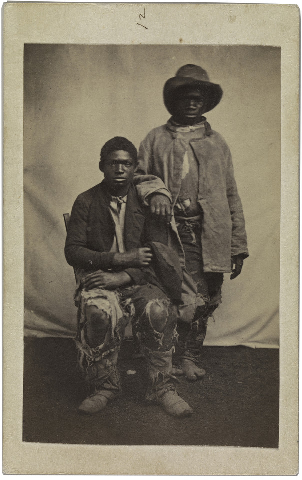 "(Prawdopodobnie) McPherson & Oliver, ""Our Scouts and Guides in 1863 at Baton Rouge, Louisiana"""
