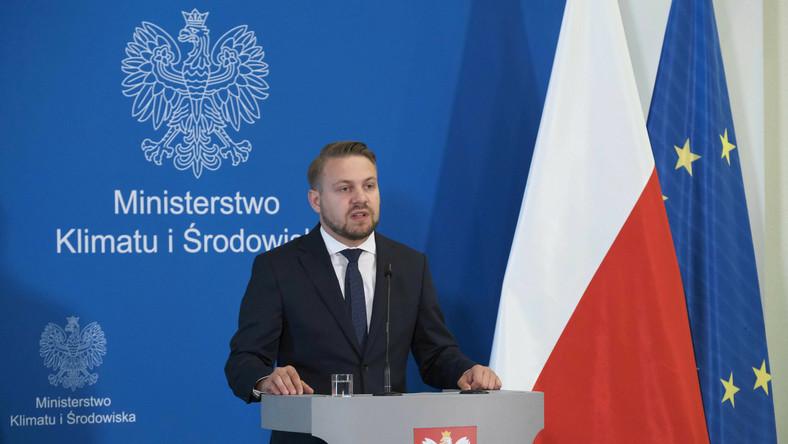 Wiceminister klimatu i środowiska Jacek Ozdoba
