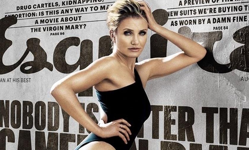 Seksowna Cameron Diaz w Esquire