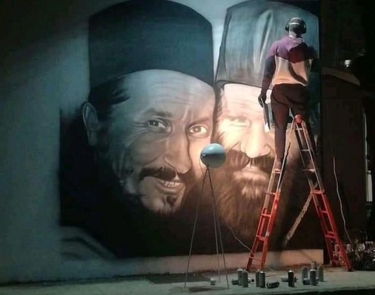 Trebinj mural vladika Atanasije