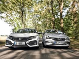 Kompakty ze szczyptą chilli - Honda Civic kontra Opel Astra