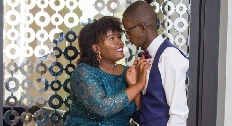 Njugush and his wife Celestine Ndinda aka Wakavinye