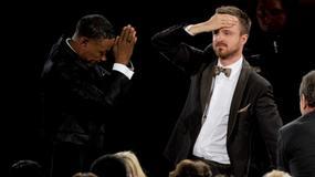 Aaron Paul przeprosił kolegę z planu za wygranie Emmy