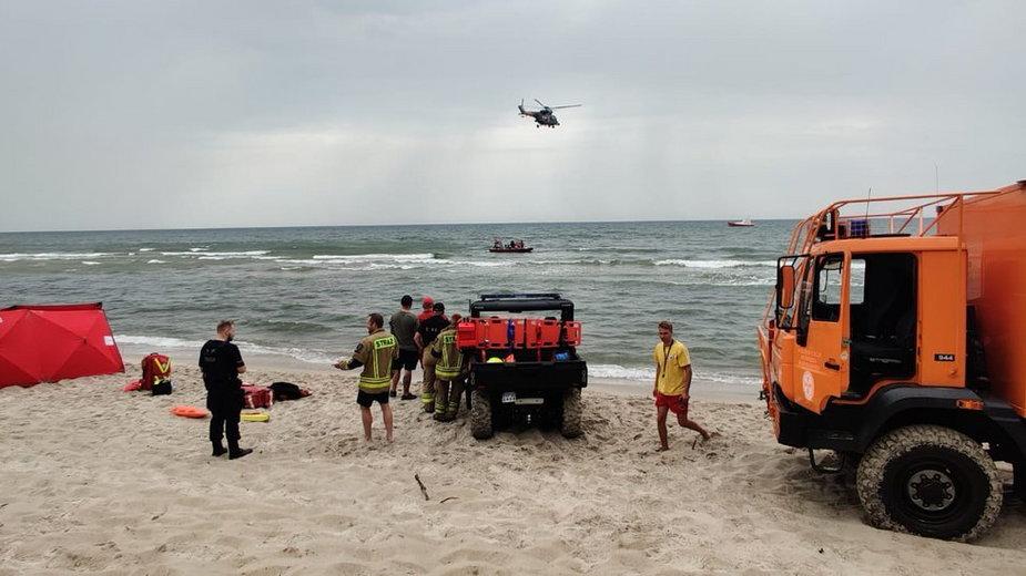 50-latek utonął w Bałtyku