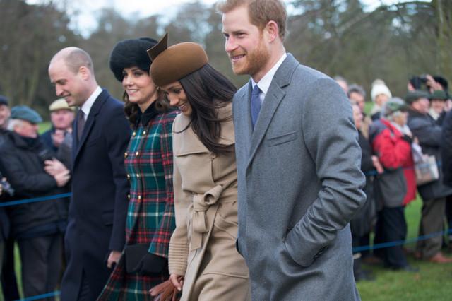 Prinčevi Vilijam i Hari sa suprugama Kejt i Megan pre svađe