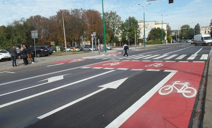 Śluza rowerowa w Poznaniu