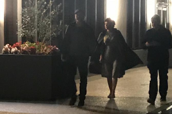 Bred i Alia zajedno u gradu