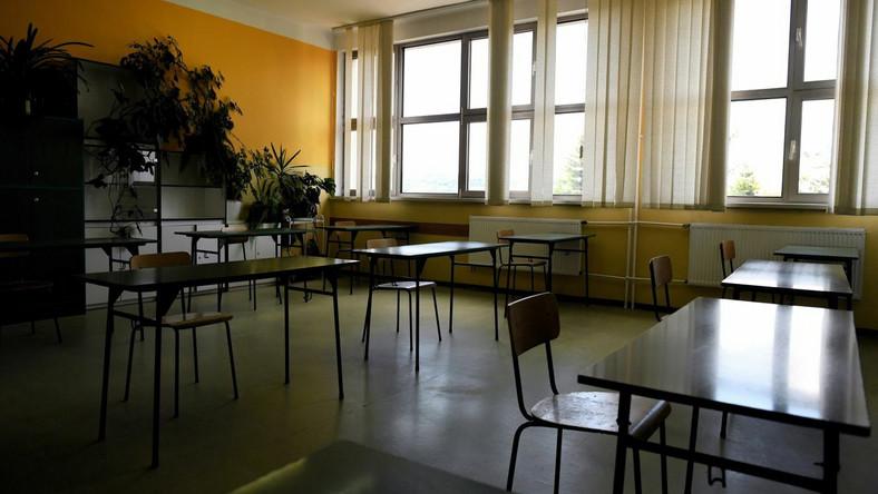 Przygotowania do egzaminu maturalnego w II Liceum Ogólnokształcącym im. Kazimierza Morawskiego w Przemyślu