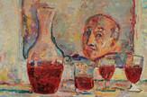 flu zbirka 1 Marko Čelebonović: Autoportret u ogledalu, 1970, ulje na platnu, 92x73 cm