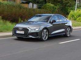 Audi A3 Limousine 35 TFSI S line – kompaktowy elegant