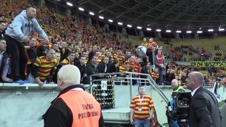 Michał Probierz w akcji