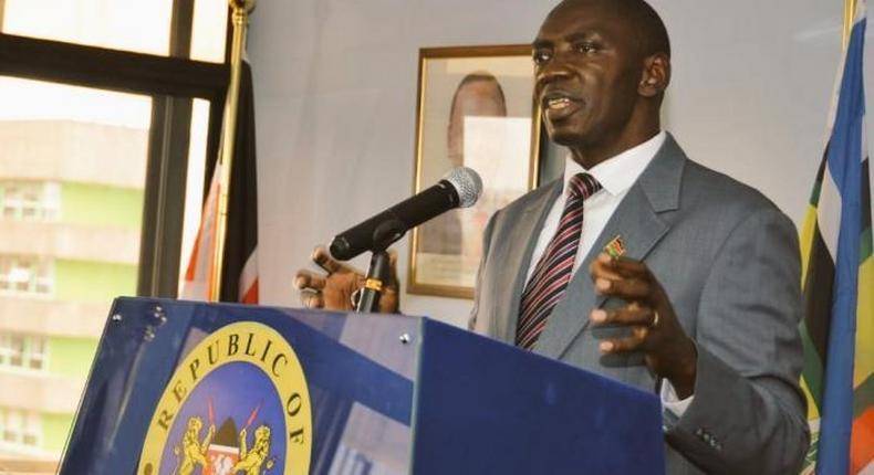Government Spokesman Col (Rtd) Cyrus Oguna