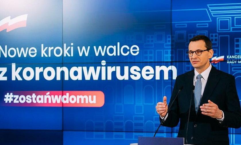 Szczegóły planu przedstawia w środę 29 kwietnia premier Mateusz Morawiecki na konferencji prasowej