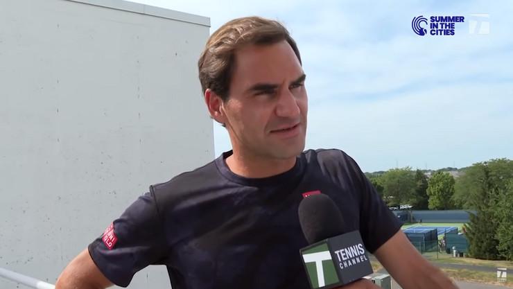 Rodžer Federer Sinsinati 20198