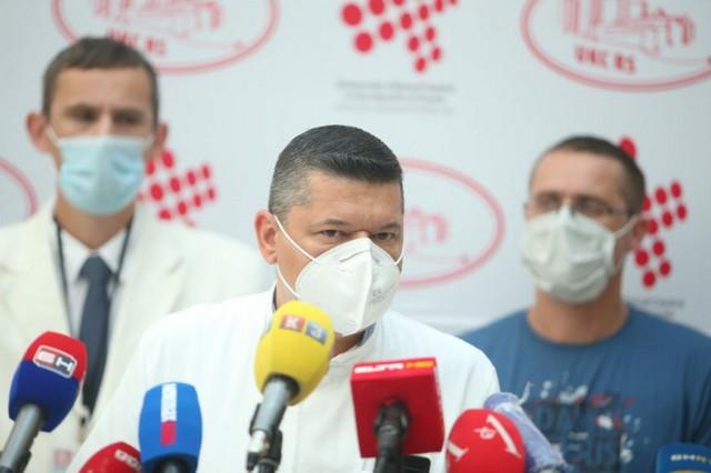 Peđa Kovačević  načelnik Klinike intenzivne medicine za nehirurške grane UKC RS