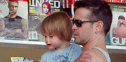 Colin Farrell rozpieszcza synka. Zobacz zdjęcia!