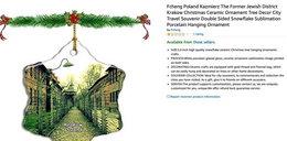 Skandaliczna oferta Amazona. Świąteczne pamiątki z Auschwitz