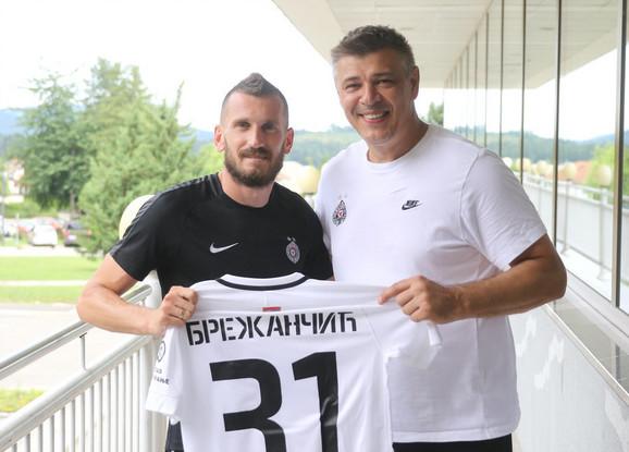 Rajko Brežančić i Savo Milošević