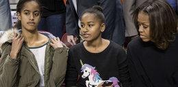 Córka Obamy wywołała zamęt... swetrem