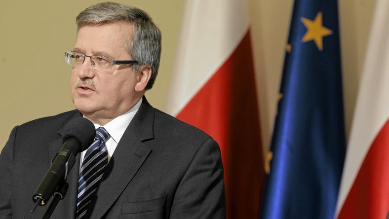 Bronisław Komorowski, fot. Przemek Wierzchowski / Agencja Gazeta