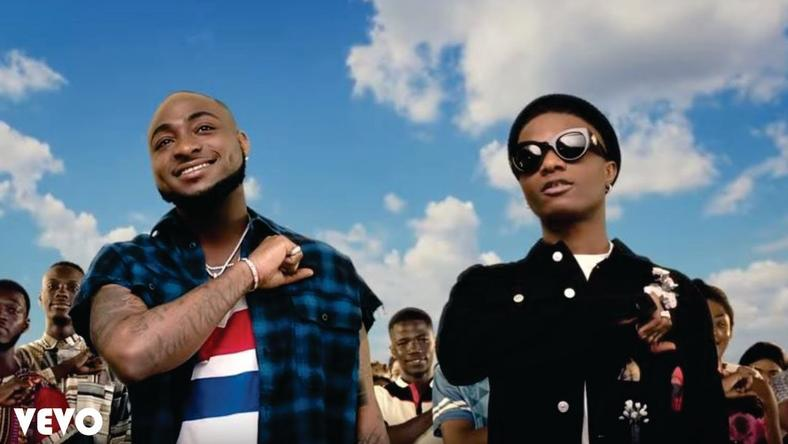 Wizkid and Davido are two of the four Nigerian top-earning musicians in Africa