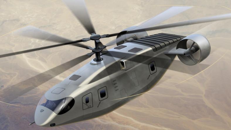 AVX Aircraft proponuje śmigłowce, w których połączono współosiowe wirniki z silnikami wentylatorowymi