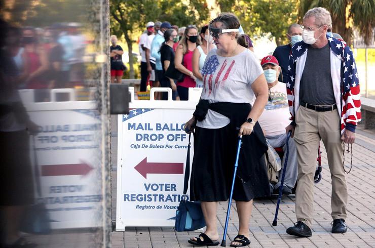 Glasanje, SAD, američki izbori 2020.