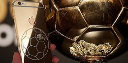 Ronaldo dostał złotego... iPhone'a!