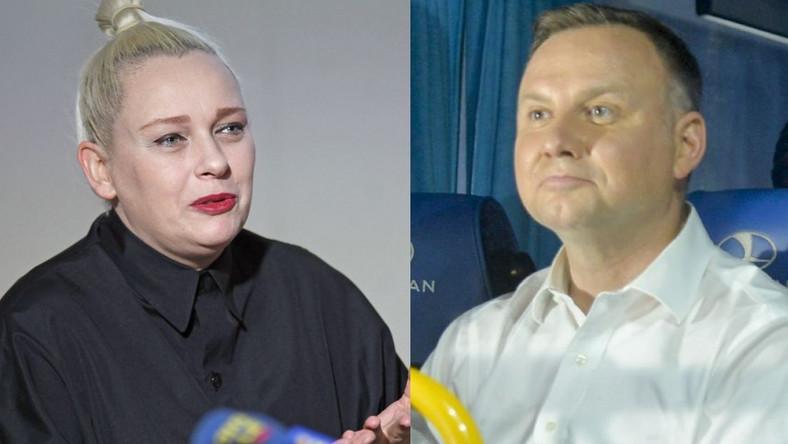 Katarzyna Nosowska, Andrzej Duda