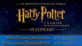 """""""Harry Potter i Kamień Filozoficzny in Concert"""" w Warszawie, Gdańsku, Wrocławiu i Krakowie"""