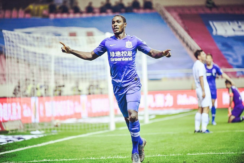 Odion Ighalo will earn a third of what he was getting at Shanghai Shenhua (Instagram/Odion Ighalo)