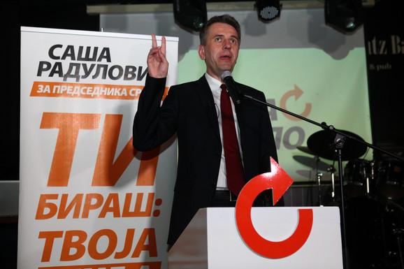 Saša Radulović lider Pokreta