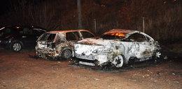 Chciał ukraść auto, spowodował jego pożar