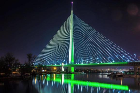 Beograd u bojama Irske