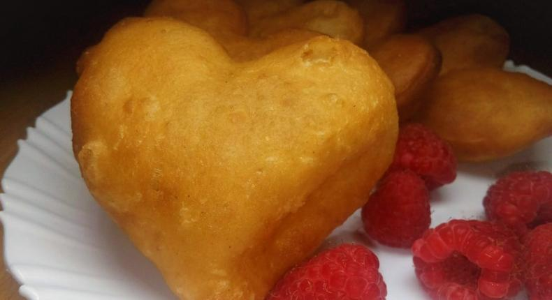 #RecipeWithAPulseliveTwist: Soft heart-shaped Kenyan cardamom Mandazis