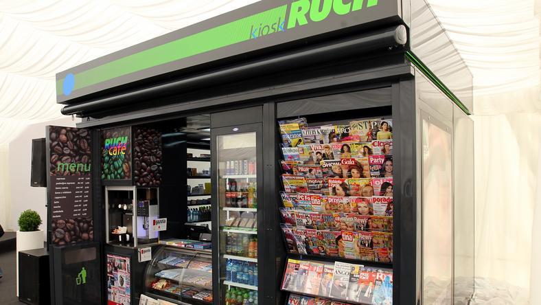 Nowe kioski Ruch