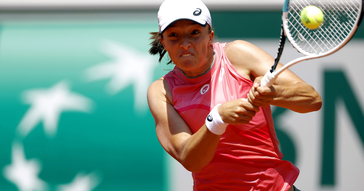 Roland Garros: Kiedy Iga Świątek gra półfinał debla?