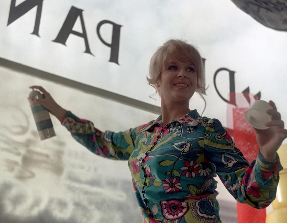 """Halina Kowalska w filmie """"Nie lubie poniedziałku"""", 1971"""