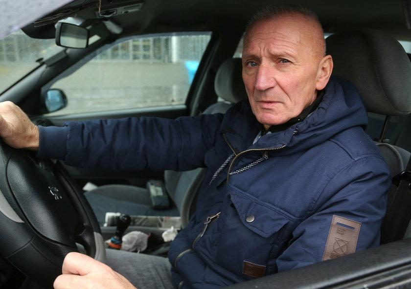 Andrzej Słomka (66 l.), kierowca