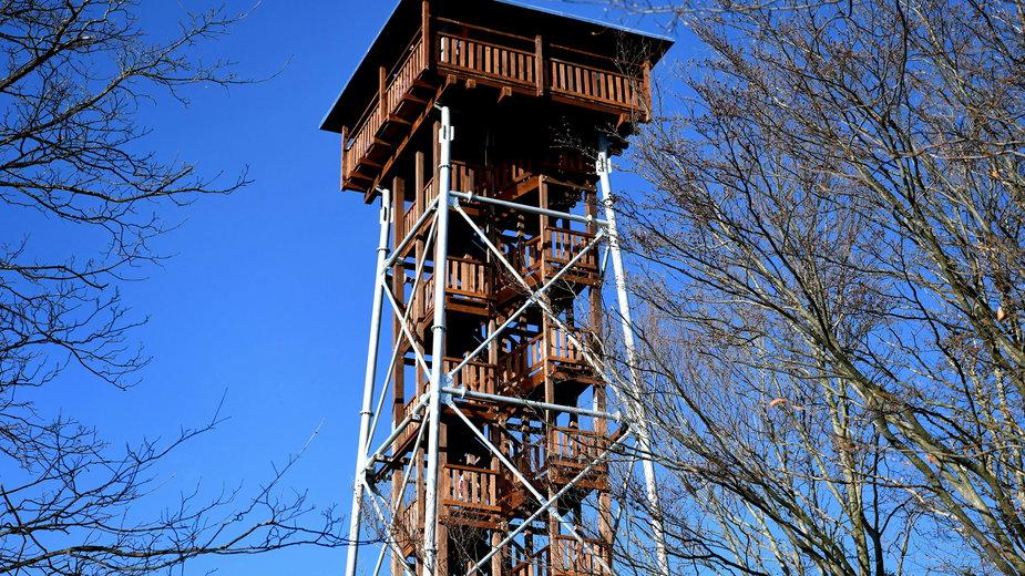 Bieszczady: 34-metrowa wieża widokowa w Mucznem dostępna dla turystów