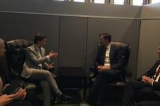 Ana Brnabic, sastanak sa premijerom Holandije, foto promo