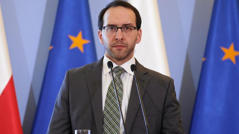 Rzecznik Ministerstwa Spraw Wewnętrznych Stanisław Żaryn