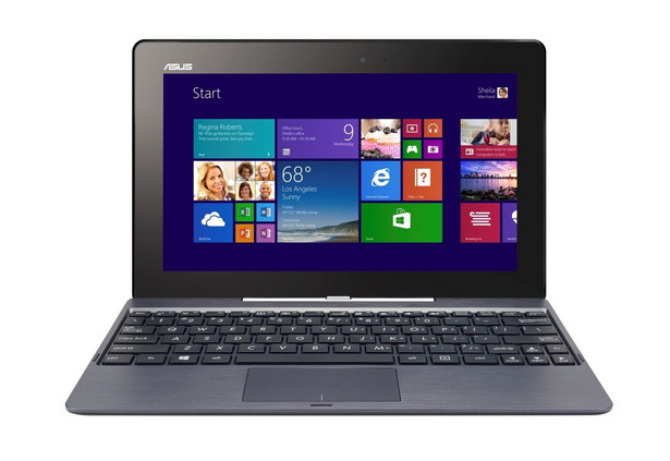 Asus Transformer Book T100TA Procesor: Intel Atom Z3740 (1,33 GHz) Ekran: 10,1 cala 1366x768 RAM: 2 GB Dysk: 532 GB HDD System: Windows 8 Cena: 1599 zł