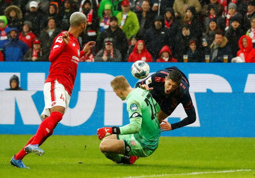 Bundesliga: Bayern Monachium pokonał Mainz 3:1