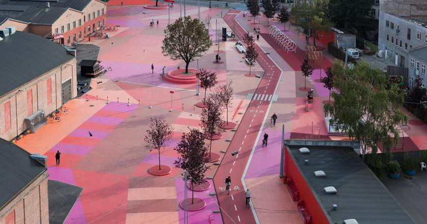 Superkilen - innowacyjny park miejski w Danii