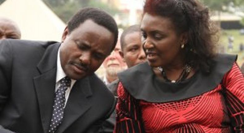I am at my lowest - emotional Kalonzo opens up on wife's health battle
