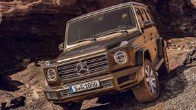 Mercedes-Benz klasy G gotowy do premiery