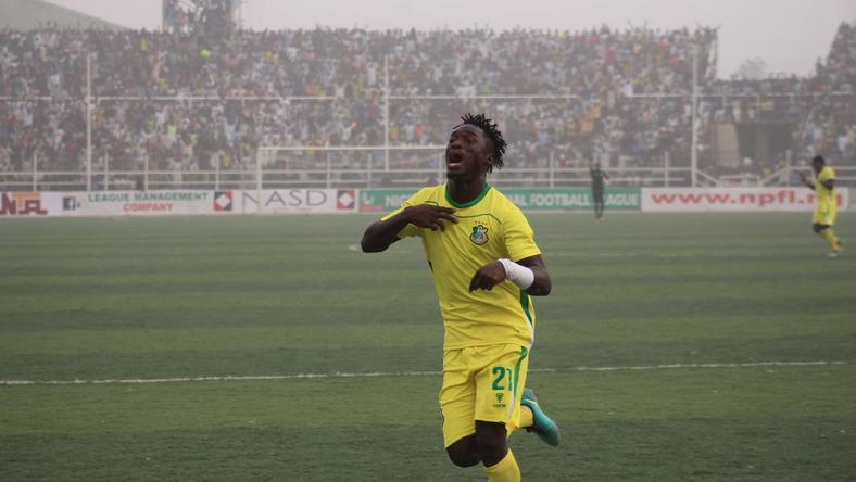 Former NPFL goal king Junior Lokosa joins Esperance of Tunisia from Kano Pillars (LMC)