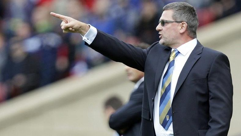 Craig Levein, pictured September 2012, admitted his team did not show enough quality in the final third